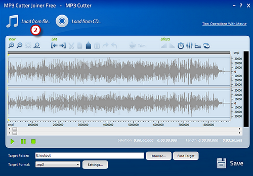 Load Your MP3 File
