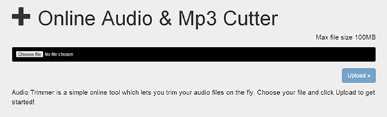 How to Cut MP3 Files Differently